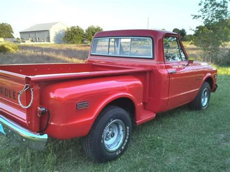 sell new 1971 chevy c 10 pickup shortbed stepside in united states