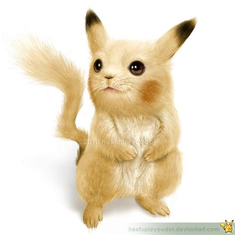 What Pikachu Would Look Like In Real Life Pokemon