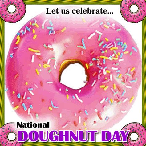 national doughnut day card  national doughnut day