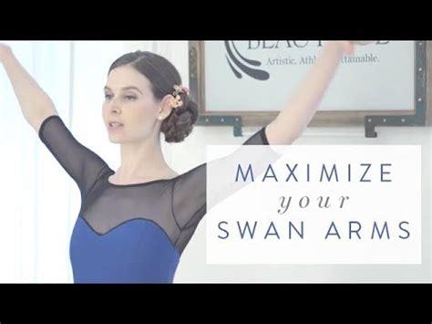Ballet Beautiful Quick Tip  Maximize Your Swan Arms