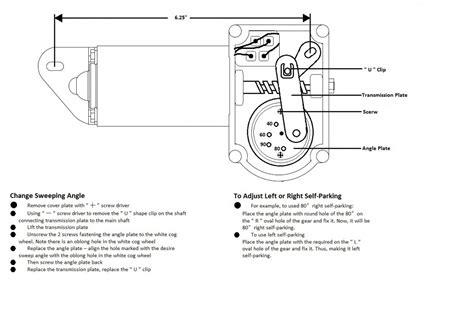 Windshield Wiper Motor Wiring Diagram Stream