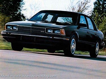 old car manuals online 1986 buick century instrument cluster 1986 buick century t type sedan since october 1985 for north america u s specs review