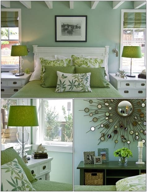 Design Ideas For Green Bedroom by Serene Green Bedrooms