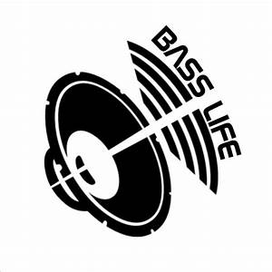 118cm125cm bass life car decal window sticker subwoofer With car subwoofers