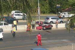 He holds a south african nationality. Man dies after car splits in Mbombela - The Citizen