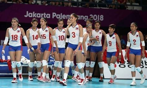 philippine womens volley team starts seag training june