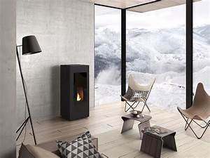 Poele A Granules Design Contemporain : 8 po les granul s colos et pratiques la maison bois ~ Premium-room.com Idées de Décoration