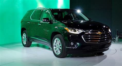 2019 Chevy Traverse Review, Interior, Release Date 2018