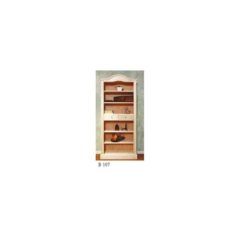 libreria legno grezzo libreria classica a cupola in legno grezzo con cassetti