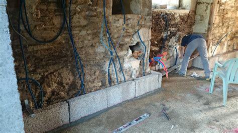 blocs de chanvre et enduit d argile restaurer un mur int 233 rieur
