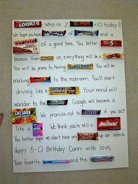 I'm no teacher, but this was a fun activity to stretch my. Candy birthday cards, Candy cards, Candy bar cards
