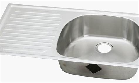 Beautiful Kitchen Sink with Side Drain Board   GL Kitchen