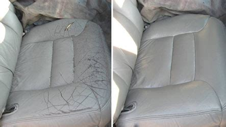 Auto Seat Upholstery Repair by Leather Vinyl Repair Magic Auto Care