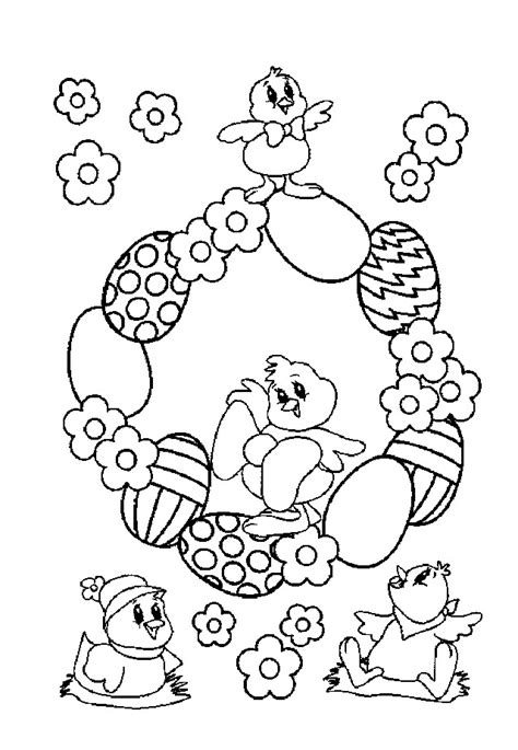 Coloring Easter Pages by Easter Coloring Pages Coloringpagesabc