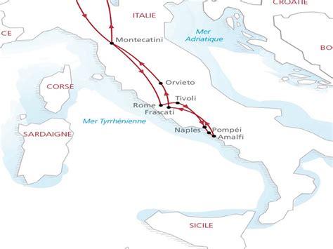 Carte Du Sud De La Et Italie by Circuit Italie Rome Et Le Sud De L Italie 10 Jours La