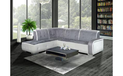 canapé angle gris et blanc canape gris et blanc maison moderne