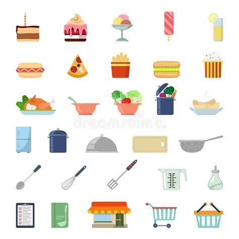 icone cuisine icône plate de la nourriture app de site web cuisson de