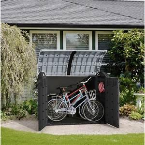 Coffre De Jardin En Resine : coffre de jardin en r sine gris 2000l multifonctions keter ~ Teatrodelosmanantiales.com Idées de Décoration