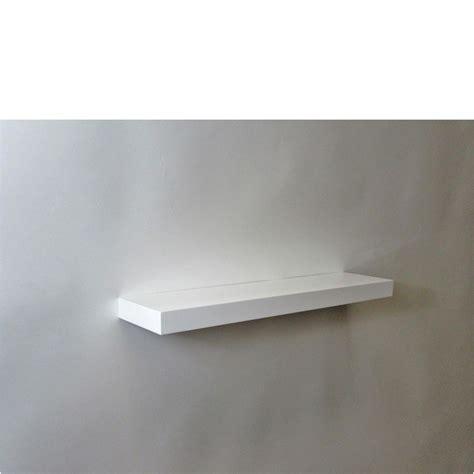 Gloss White Floating Shelf 600x150x38mm Mastershelf