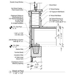 Florida Building Wiring Diagram by Traditional Technical Architectural Detail Drawing By E