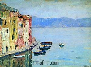Java Script Code Examples Lake Como Isaac Levitan Painting Reproduction 8074