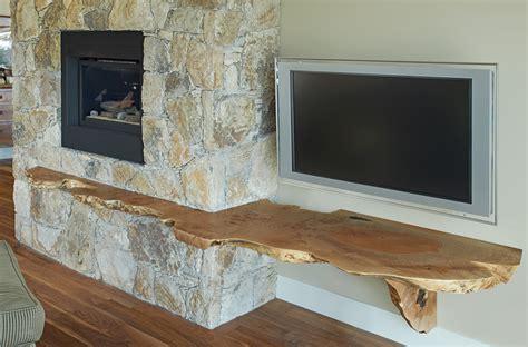 Bedroom Live Edge Tv Shelf pictures, decorations