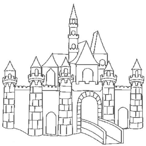 ausmalbild ritterburg kinderbilderdownload