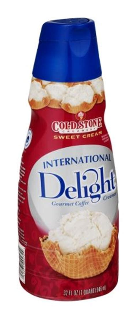 It makes the perfect addition to any office or home. International Delight Cold Stone Creamery Sweet Cream Flavor Gourmet Coffee Creamer   Hy-Vee ...