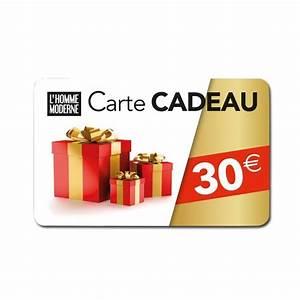 Cadeau 5 Euros : carte cadeau 30 euros acheter id es cadeaux homme l 39 homme moderne ~ Teatrodelosmanantiales.com Idées de Décoration