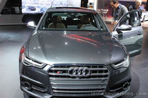 Audi S6 Front by 2016 Audi S6 Front At The 2014 Los Angeles Auto Show