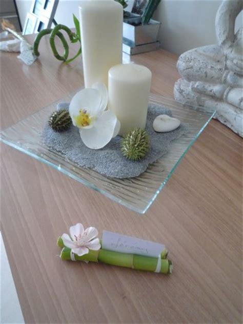 deco de table zen recherche id 233 es pour d 233 co zen chocolat vert anis bambou forum mariage tous les forums