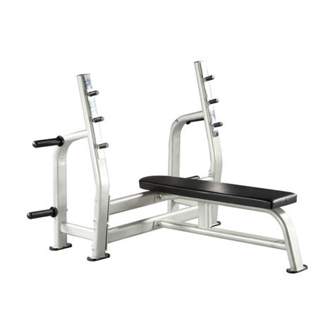 olympic bench press hs025 olympic flat bench press viva fitness
