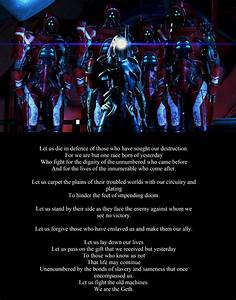 The Geth. By Et... Mass Effect Shepard Quotes