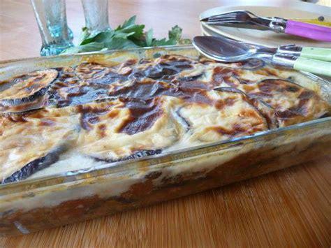 cuisine grecque moussaka recettes de grèce et aubergines