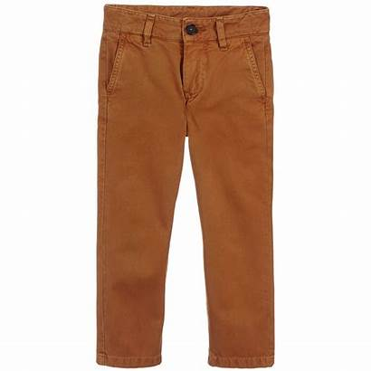 Trousers Brown Boys Mccartney Childrensalon Stella Cotton