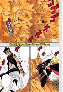 Boruto Manga Naruto and Sasuke in Death