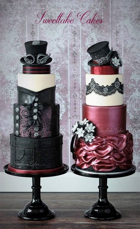 His And Wedding Cakes by Offbeat Wedding Cakes To Sweeten Your Nuptials Mnn