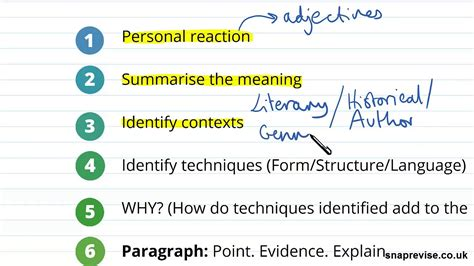 introduction to analysing prose part 1 a level