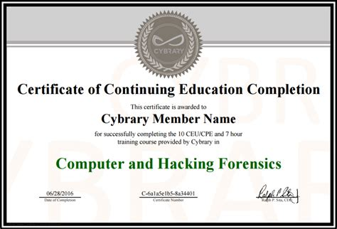 free courses with certificates cybrary free cyber security forever