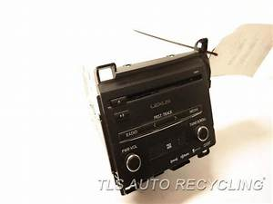 2014 Lexus Ct 200h Radio Audio    Amp