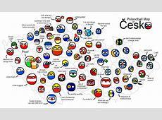 Polandball Map of the Czech Republic by CeskyMicek on
