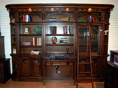 library wall units bookcase giant walnut library bookcase bookshelf wall unit