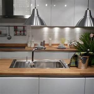 Cuisine Blanche Plan De Travail Bois : cuisine flip design boisflip design bois ~ Preciouscoupons.com Idées de Décoration