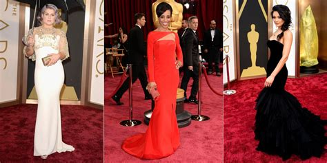 Oscars Red Carpet See All The Stunning Gowns From