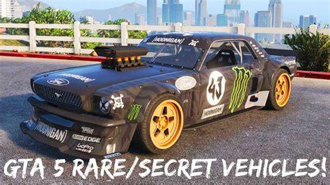 Gta 5 Secret Vehicles Part One!