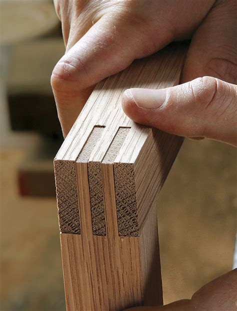 double bridle joint finewoodworking