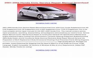 2005 Honda Civic Ex Coupe Owners Manual