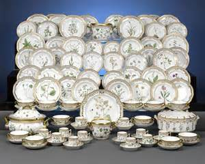 Royal Blue Chairs by An Elegant 101 Piece Flora Danica Dinner Set With 24 Carat