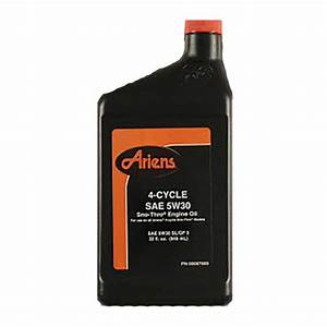 Ariens 00067600 Snowblower Oil 5w