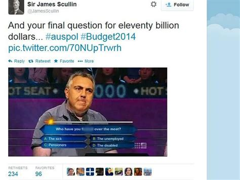 Joe Hockey Meme - twitter users express their verdict on federal budget 2014 business news business and